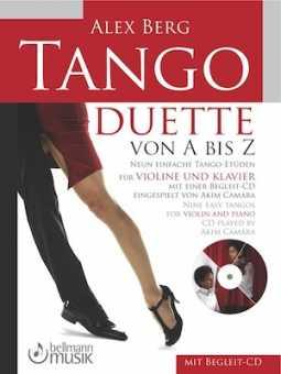Alex Berg, Tango-Duette von A bis Z mit CD