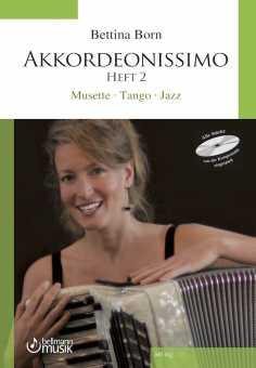Bettina Born, Akkordeonissimo 2 mit CD
