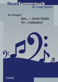 Marggraf, Jens: Kon...  Stücke für ...trabassduo