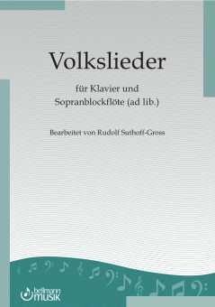 Volkslieder für Klavier, Bearbeiter  Rudolf Suthoff-Gross