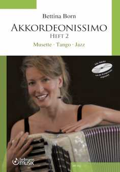 Bettina Born, Akkordeonissimo 2 mit CD