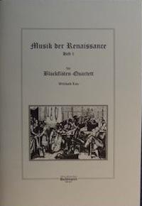 Renaissance-Musik für Blockflötenquartett